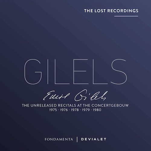 CD: Emil Gilels: The Lost Recordings: Orkestwerken