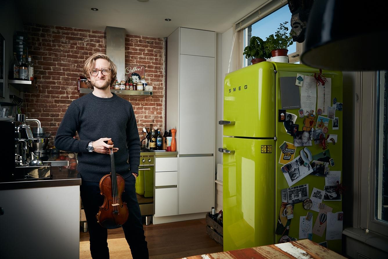 Marc Daniel van Biemen: 'Ik voel mezelf een echte muzikant, geen violist'