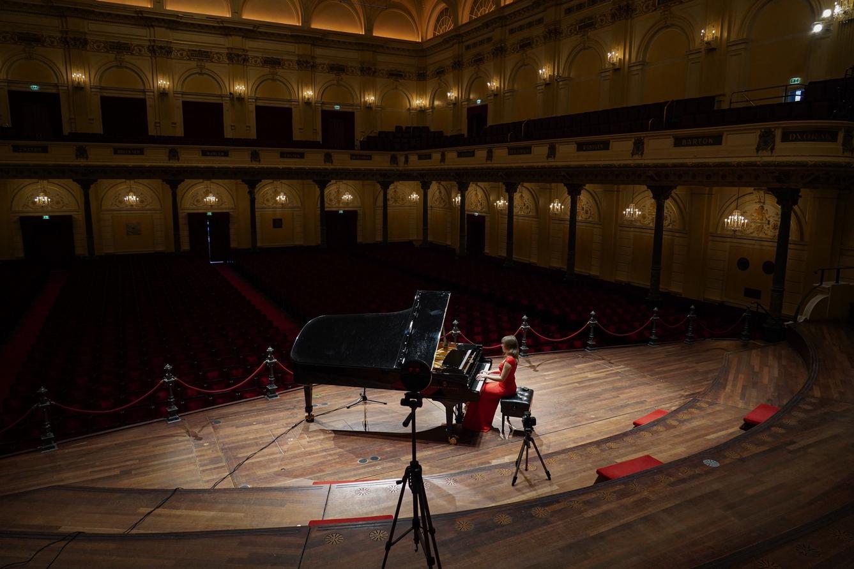 Digitale lunchconcerten vanuit leeg Concertgebouw
