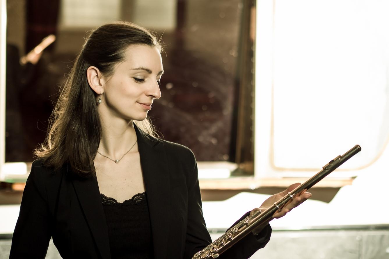 Julie Moulin: 'Ik begon op een fluit die ik nauwelijks vast kon houden'
